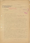 Document Stating the Ghetto of Nowy Sacz is Destroyed