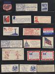 American Isolationist Sentiment WWII: Pre-War Propaganda Stamps Advocating Non-Involvement in Europe