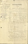 Marriage Certificate of Leo Jacobsohn and Frieda Mehrens