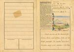 Dachau Concentration Camp Formular Letter from Prisoner