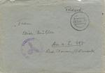 11th SS Volunteer Panzergrenadier Division Nordland Feldpost Letter Sent to Family Member (Mother)