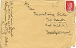Rare Letter with Cover from KL (Concentration Camp) Bad Tolz, Subcamp of Dachau