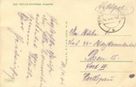 Concentration Camp Posen Fort VII: Postcard Sent to SS Guard