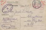 Postcard from Zygmunt Pustelnik in Tittmoning Internment Camp in Bavaria to Joseph Pustelnik in Chicago