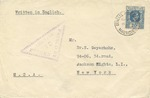 Mauritius Jewish Internment Camp Cover from Adolph Meir Felmann to New York Physician