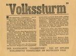 American Propaganda Dropped on Germany