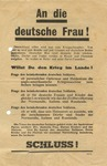 Allied Propaganda Leaflet