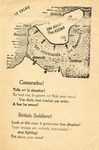 Dunkirk Leaflet Dropped on Retreating British Soldiers