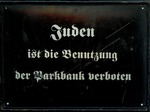 Anti-Semitic German Sign