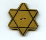 Bulgarian Jewish Star of David