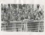 Press Photograph of German Jewish Refugees Aboard Liner St. Louis to Antwerp