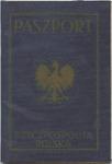 Polish Passport of Chaim Jankiel-Wajnthal, a Jewish Emigrant to Palestine