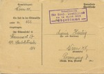 Postcard Announcement of the Plebiscite of 10 April 1938 on Annexation of Austria by Nazi Germany