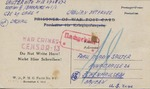 Postcard from German Prisoner of War Imprisoned in Former Concentration Camp, Dachau, to his Daughter