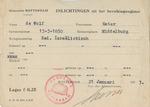 Information Card for Ester de Wolf of Rotterdam, Netherlands