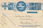 Censored Postcard from Lisbon, Portugal to Sara van Perlstein in Amsterdam, Netherlands
