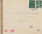 Censored Cover from Gerardus Toen in Amsterdam to Dr. Arthur Wiederkehr, Mediator for Visas in Switzerland