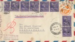 German Censored Airmail to Dr. Albert Stuehler in Amsterdam from Paul Stuehler in San Francisco