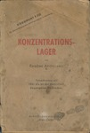 Konzentrationslager Dokument F321 by Eugene Aroneanu Report for International Military Tribunal in Nuremberg