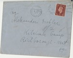 Correspondence to Alexander Distler, an Austrian Internee of Camp Kitchener, from Richborough, Kent, United Kingdom