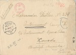 Correspondence from Franziska Distler in Vienna to Alexander Distler, Interned in Camp I, Ottawa, Canada