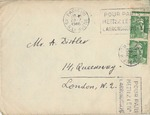 Correspondence from Dr. Alexander Bramson in Paris, France to Alexander Distler in London, England