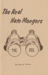 The Real Hate Mongers' by James K. Warner