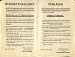 Reinhard Heydrich Assassins Reward Broadside
