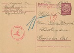 Postcards sent from Berlin to Westerbork Transit Camp in Holland Following the Return of the<i> MS St. Louis</i>