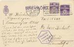 Postcards from Copenhagen, Denmark to Tel Aviv on the Eve of German Occupation