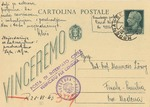Postcard to Professor M. Lowy, a Jew in Modena