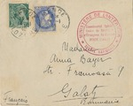 Envelope from Rieucros Internment Camp
