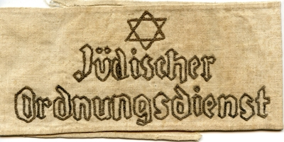 Worn by Member of Jewish Ghetto Police