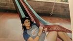 Eleven-year-old Betania lies in a Hammock in El Salvador (2011) by Betania Escobar