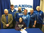 Scout signing to run cross country and track at Kenyon College (2015) by Scout Crowell