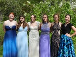 Scout with friends at senior prom (2016) by Scout Crowell