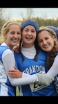 Scout with two friends after a high school cross country meet (2014) by Scout Crowell