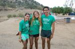 Sofia, Emma, and Roberto during their annual high school retreat by Roberto Vasquez