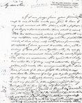 Letter to John Reade Esquire