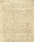 Letter to Rachel Denison by Philander Chase