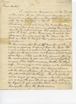 Letter to Dr. Joseph Dennison