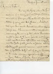 Letter to Intrepid Morse by Philander Chase