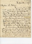 Letter to Philander Chase, Jr. by Philander Chase