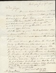 Letter to George Chase by Dudley Chase