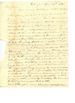Letter to George Chase