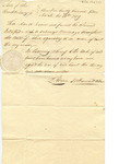 Permit for Intrepid Morse to Solemnize marriages in Ohio by Abram J. McDawad