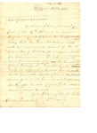 Letter to Chester Griswold and B. Gardner