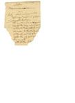 Fragment of Memorandum