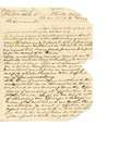 Fragment to letter to Philander Chase