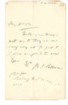 B.J Sellon Letter to Philander Chase